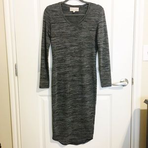 Philosophy long sleeve maxi dress NWOT